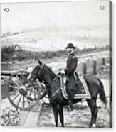 General William T Sherman On Horseback - C 1864 Acrylic Print