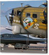 Generations B-17 And B-2 Acrylic Print