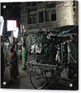 Generator Man, Bhubaneswar 2010 Acrylic Print