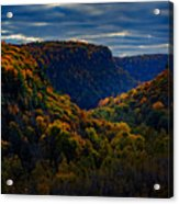 Genesee River Gorge Acrylic Print