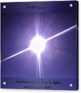 Genesis Sun Burst Acrylic Print