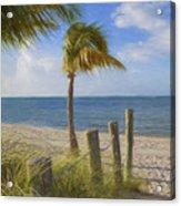 Gentle Breeze At The Beach Acrylic Print