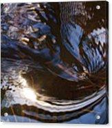Gentle River Ripple-1 Acrylic Print