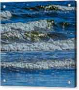 Gentle Roll Of The Waves Acrylic Print