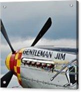 Gentleman Jim Acrylic Print