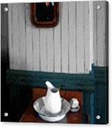 Gentleman's Washstand Acrylic Print