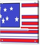 Geo Flag Acrylic Print