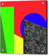Geo Shapes 3 Acrylic Print