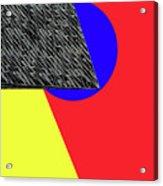 Geo Shapes 4a Acrylic Print