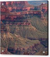 Geological Formations North Rim Grand Canyon National Park Arizona Acrylic Print
