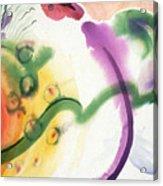 Geomantic Blossom Ripening Acrylic Print