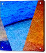 Geometric 2b  Abstract Acrylic Print