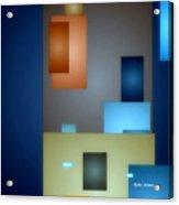Geometric Abstract 0790  Acrylic Print
