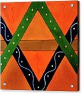 Geometric Abstract II Acrylic Print
