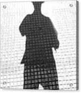 Geometric Agent 2015 1 Of 1 Acrylic Print