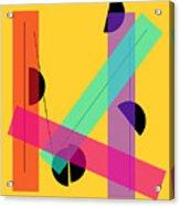 Geometric Art 419 Acrylic Print