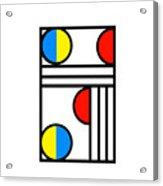 Geometric Art 429 Acrylic Print
