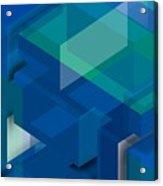 Geometric Composition  Acrylic Print