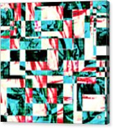 Geometric Confusion 2 Acrylic Print