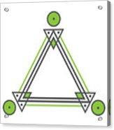 Geometric Design Series Three Acrylic Print