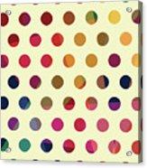 Geometric Dots Acrylic Print