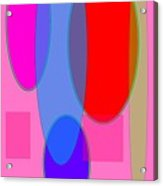 Geometric Layers  Acrylic Print