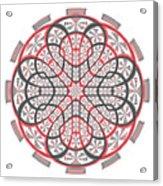 Geometric Mandala Acrylic Print