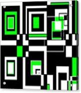 Geometric Pizazz 4 Acrylic Print