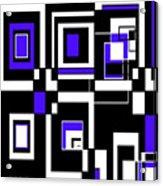 Geometric Pizazz 5 Acrylic Print