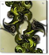 Geometric Pole Acrylic Print