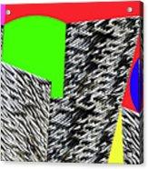 Geometric Shapes 4 Acrylic Print