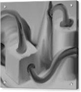 Geometric Twine Acrylic Print