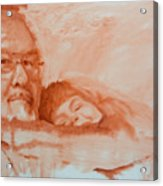 George And Emily Acrylic Print