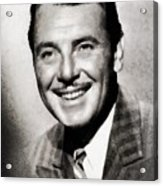 George Brent, Vintage Actor Acrylic Print