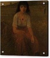 George Fuller   Farmer Girl Acrylic Print
