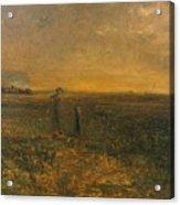 George Fuller   Twilight On The Prairie Acrylic Print