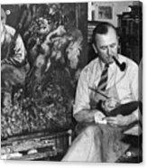 George Grosz (1893-1959) Acrylic Print