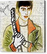 George Harrison - 1 Acrylic Print