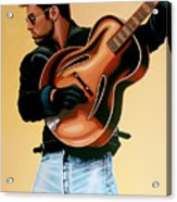 George Michael Painting Acrylic Print
