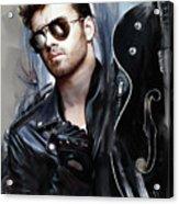 George Michael Singer Acrylic Print
