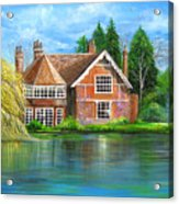 George Michaels Estate In Goring,england Acrylic Print
