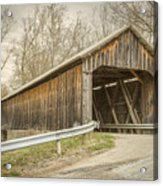George Miller Covered Bridge  Acrylic Print
