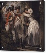 George Morland   The Deserters Farewell Acrylic Print