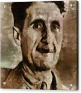 George Orwell Author Acrylic Print