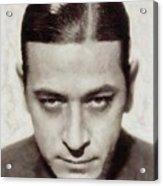 George Raft, Vintage Actor Acrylic Print