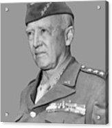 George S. Patton Acrylic Print
