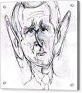 George W. Bush Acrylic Print