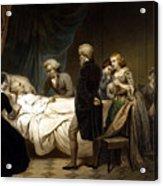 George Washington On His Deathbed Acrylic Print