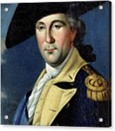 George Washington Acrylic Print by Samuel King