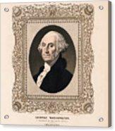 George Washington - Vintage Color Portrait Acrylic Print